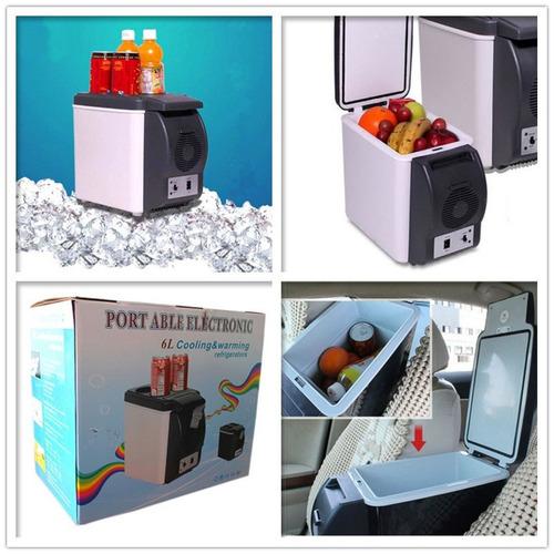 hielera electrica portátil frio o caliente par auto