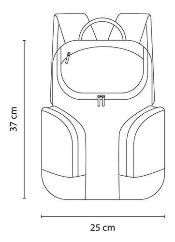 hielera forma de mochila interior plastificado impermeable