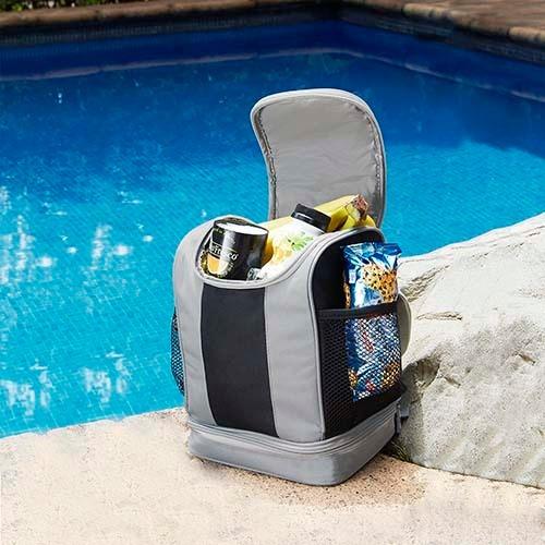 hielera lonchera portable interior plastif. compartimentos