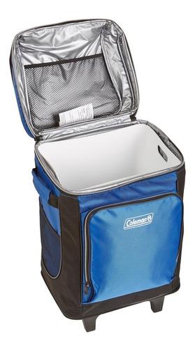 hielera maleta 42 latas con ruedas y asa envio gratis