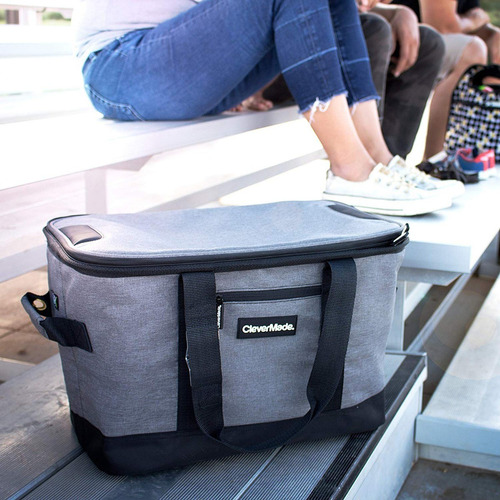 hielera maletin para 50 latas bebidas alimentos refrescos lp