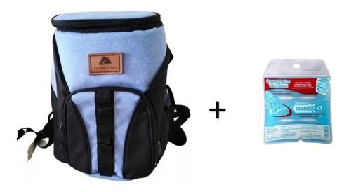 hielera mochila ozark trail para 30 latas + sustituto hielo