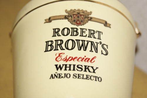 hielera whisky robert brown's