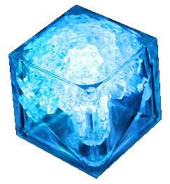 hielo luminoso fiestas