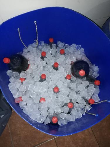 hielo para fiestas, eventos, comercios, etc...
