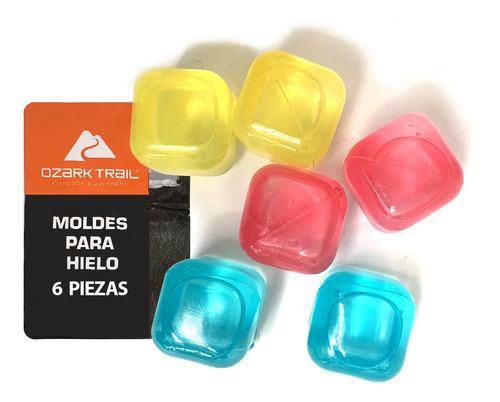 hielo reutilizable cubos
