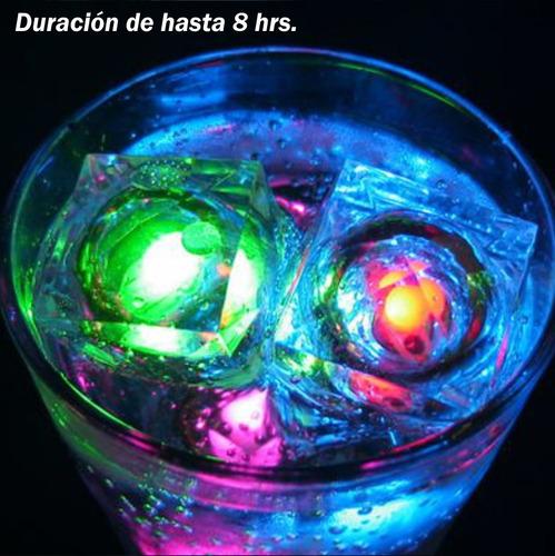 hielos luminosos fiestas decoracion