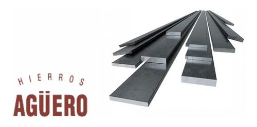 hierro planchuela *** 1 1/4 x 1/4 *** en largo de 6 mts. - hierros agüero