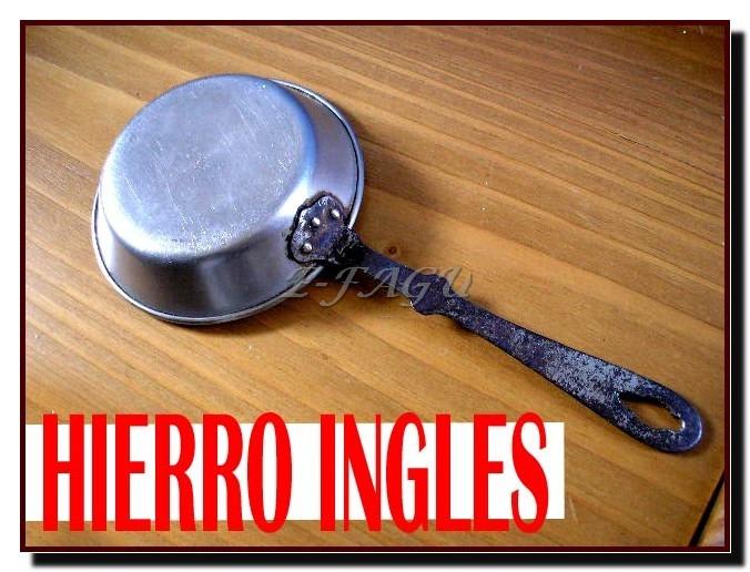 Hierro en ingles gallery for Sartenes de hierro fundido el corte ingles