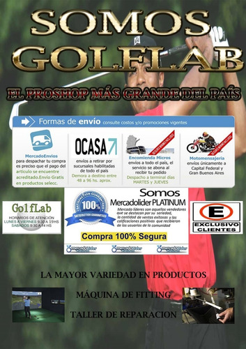 hierros mizuno mp-60 (forged) 5 al pw golflab