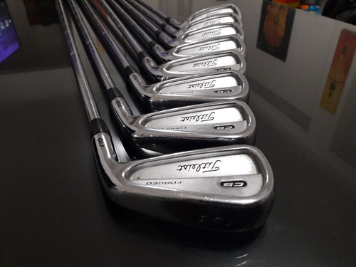 hierros titleist cb 710 forged - 3 a p