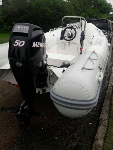 hifei semirrrigido hypalon orca 4.7 mt 50 hp 4t mercury full