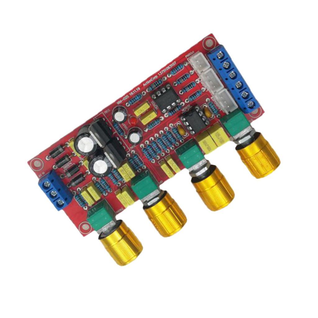 Hifi Ne5532 Preamp Pre-amplifier Tone Board Treble Alto Bass