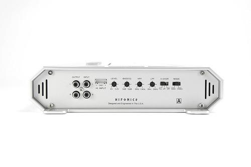 hifonics zues serie zrx vehículo amplificador, canal cuatro