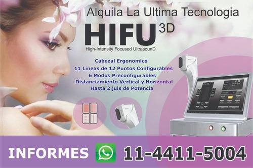 hifu 3d ultima tecnologia!