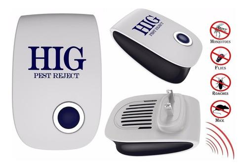 hig repelente eléctrico de insectos, ratones y cucarachas