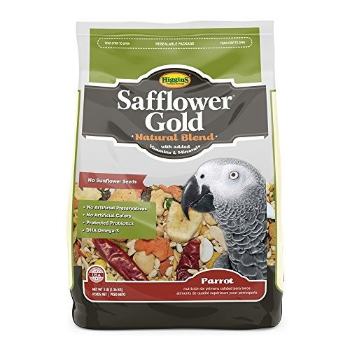 higgins safflower gold mezcla de alimentos naturales para lo