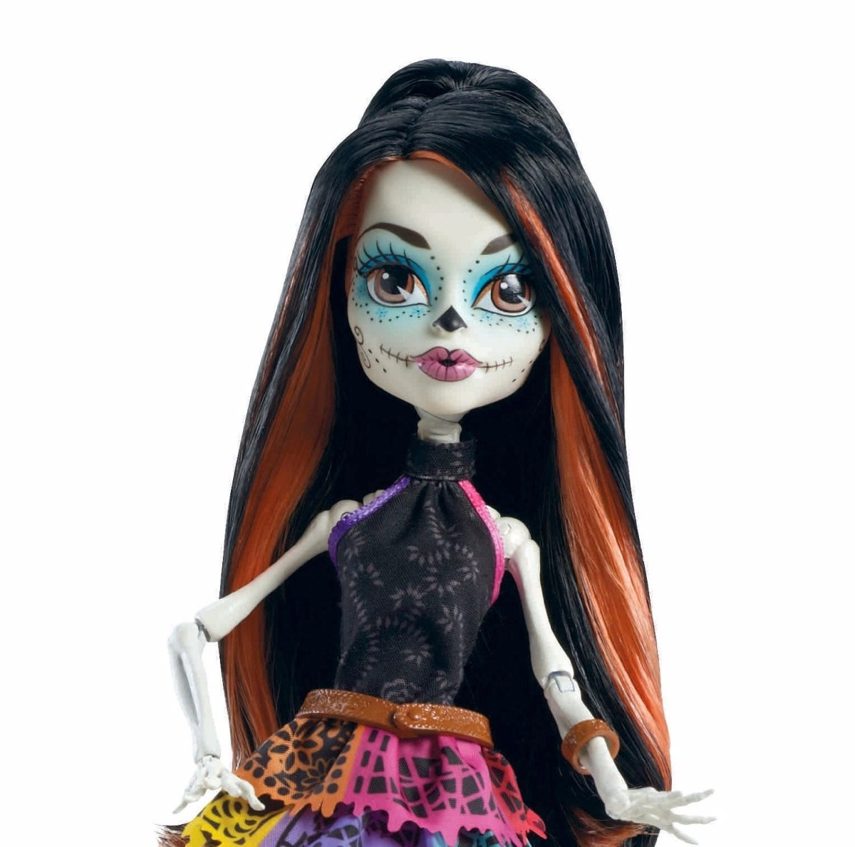 skelita calaveras monster high mu241eca 1ra edicion 799