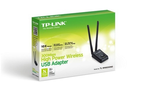 high power wireless usb adapter tp-link tl-wn8200nd 300mbps