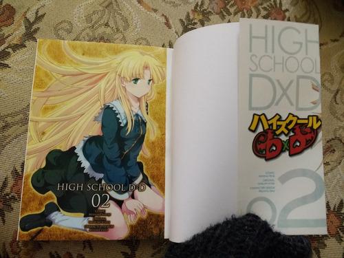 high school dxd - manga en español