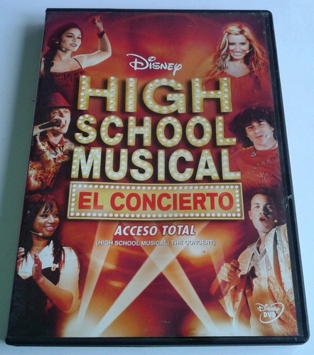 high school musical el concierto dvd made mexico