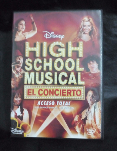 high school musical el concierto dvd original acceso total