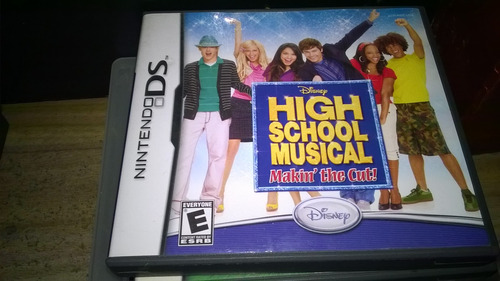 high school musical - makin' the cut - nintendo ds - disney