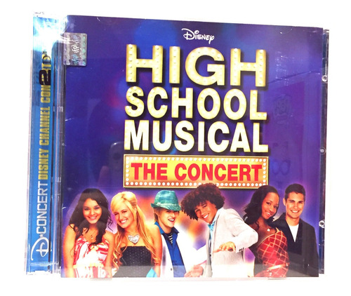 high school musical the concert cd dvd nuevo disney
