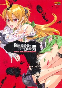 high school of the dead nº 05 - full color edition