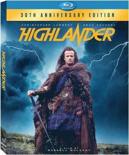 highlander: 30º aniversario [bluray] [blu-ray]