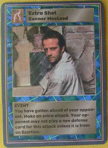 highlander the card game swordmaster-preço por unidade