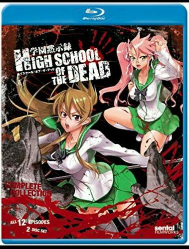 highschool of the dead coleccion completa bluray-hachi anime