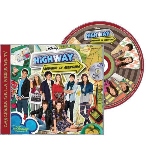 highway:rodando la aventura disney channel  cd nuevo sellado
