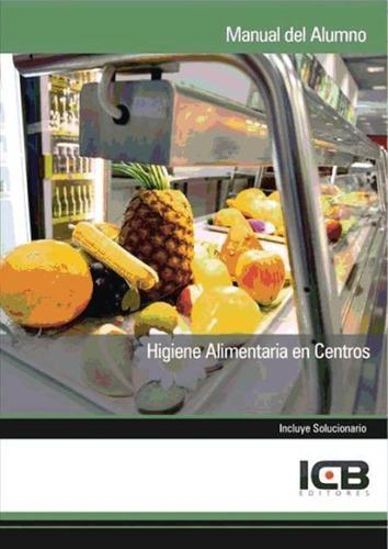 higiene alimentaria en centros(libro )