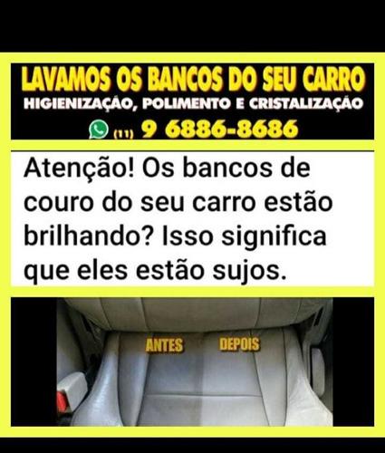 higienização automotiva, lavamos os bancos do seu carro !