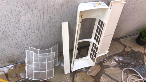 higienização de ar-condicionado no local