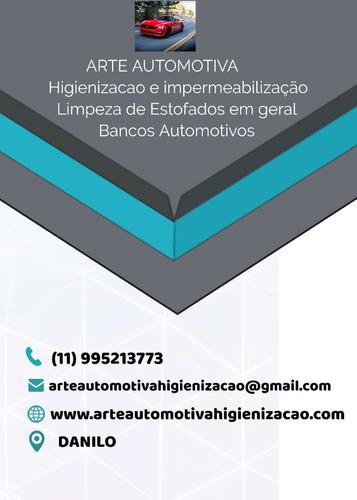 higienização de bancos automotivo