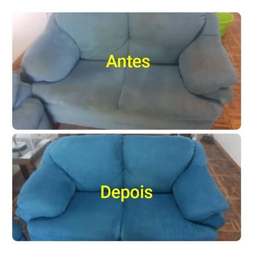higienização de sofá, colchão, tapetes, cadeiras ,carro etc