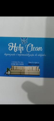 higienização e impermeabilização de estofados