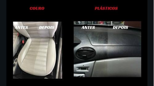 higienização e impermeabilização de tecidos e couro