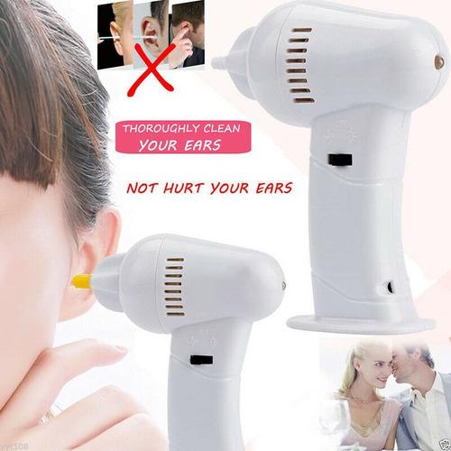 higienizador de ouvido eletrico wax vac pronta entrega