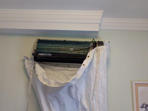 higienizao de ar condicionado  de 7 a 12.000 btus