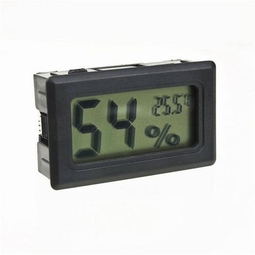 higrómetro para indoor mide temperatura/humedad