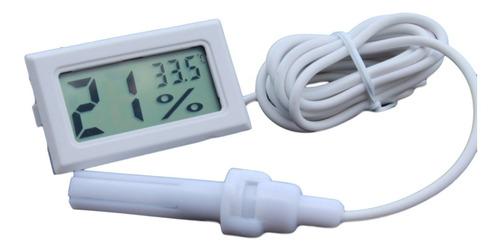 higrómetro termómetro medidor humedad temperatura con sonda