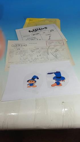 hijitus -2 dibujos garcia ferre' originales de la pelicula