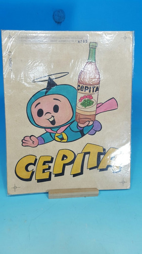hijitus cepita .boceto original de publicidad