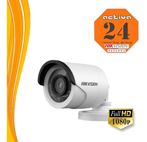 hikvision bullet exterior 100% full hd - 1080p - 16dot-if