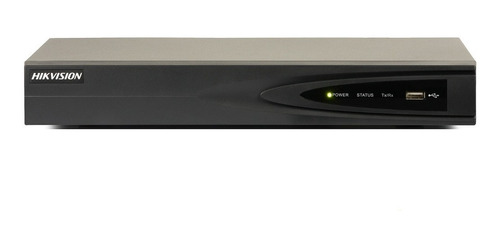 hikvision nvr 4ch poe 40mbps h264+ 1hdd 1ch 4k (sin hdd)