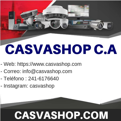 hikvision venta  soporte cctv venezuela casvashop.com