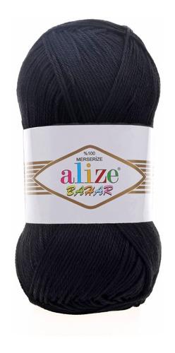 hilaza de algodón alize bahar 100 gramos lisos
